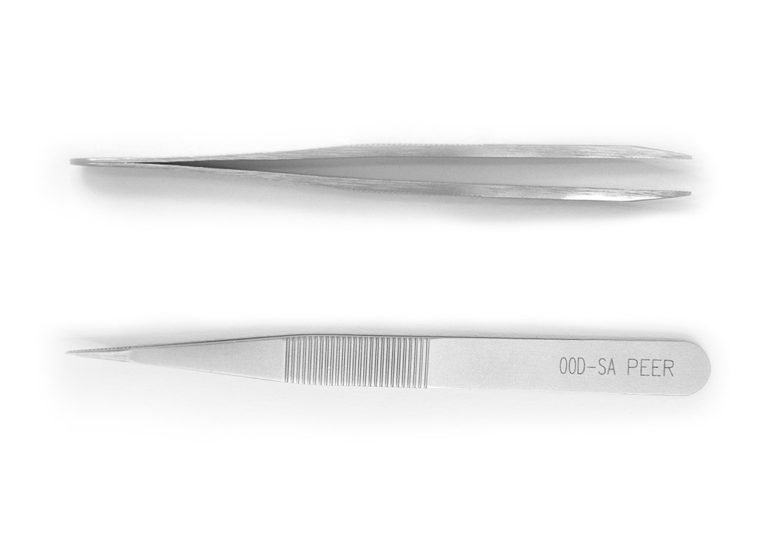 """Tweezers, Rubis Sturdy, Strong Pointed, 115mm, 4.5"""""""