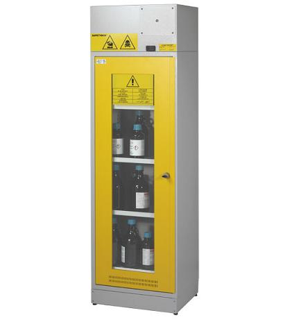 Safety cabinet 90 lt for chemicals inspectionable
