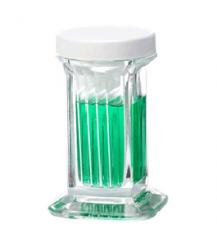 Coplin staining jar with lid in PP for TLC