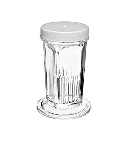 Coplin staining jar with lid in PP