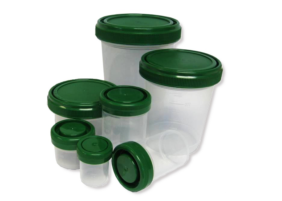 Pre-filled containers with 10% neutral buffered formalin - 120 ml