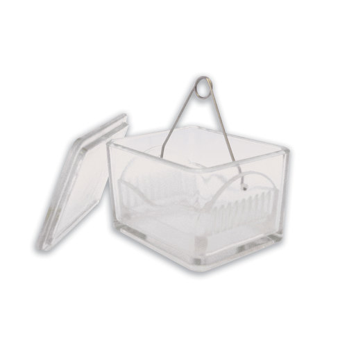 Glass slide holder basket